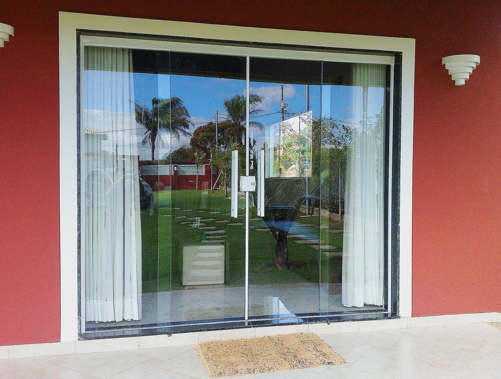 #83342C Portas de Vidro BH Vidraçaria Água Branca 1572 Vidros E Janelas Bh
