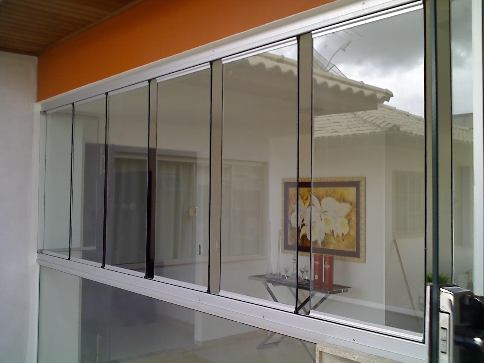 #7B3E16 cortina de vidro também chamada de janela panorâmica ou janela de  1574 Vidros Em Bh Janelas