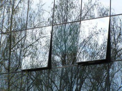 vidro refletivo