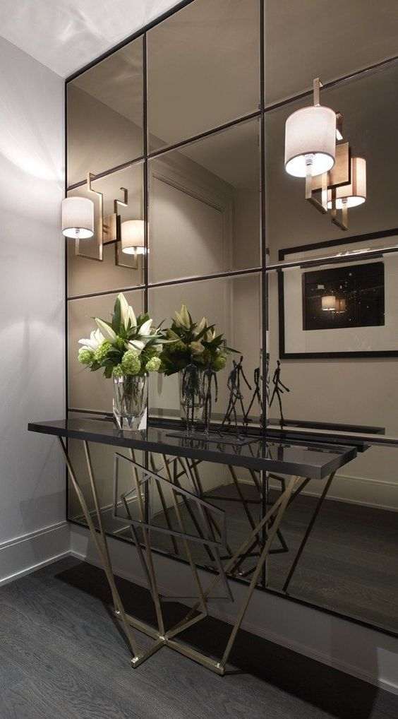 Espelhos para ampliar ambientes