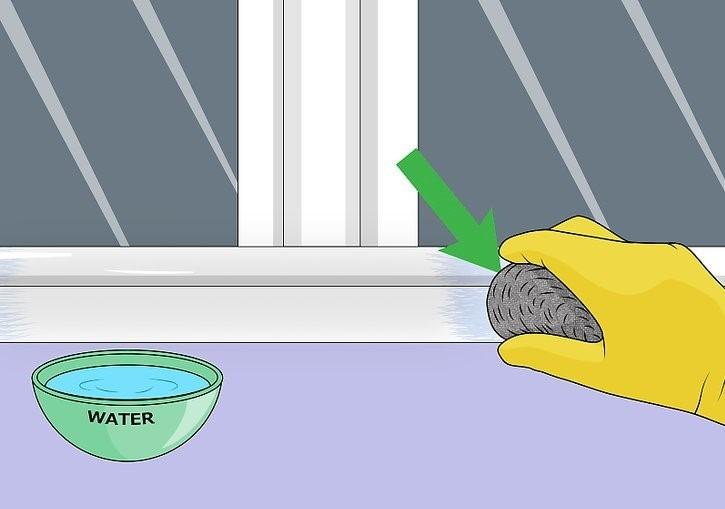 Limpar esquadrias
